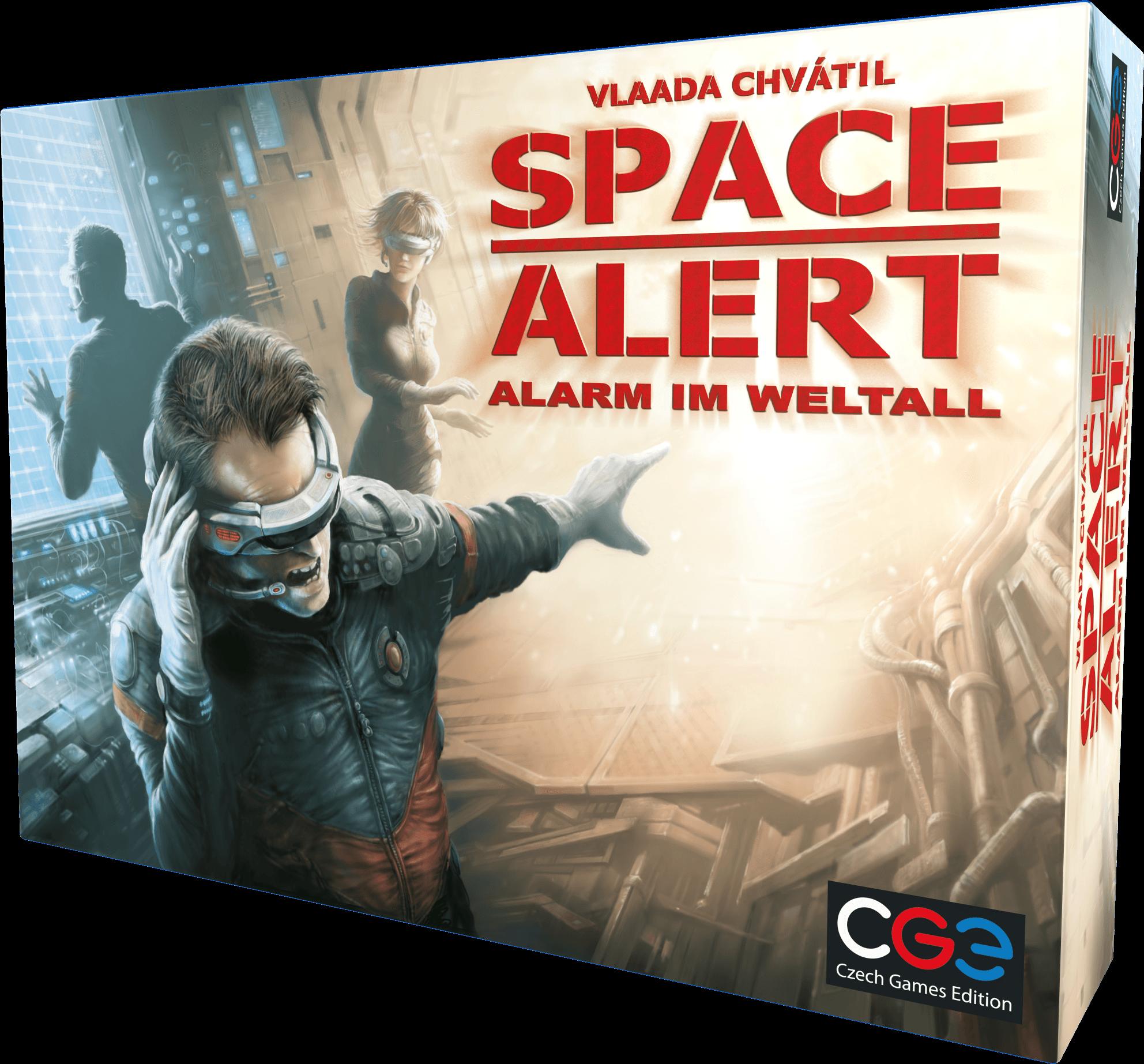 space alert alarm im weltall box