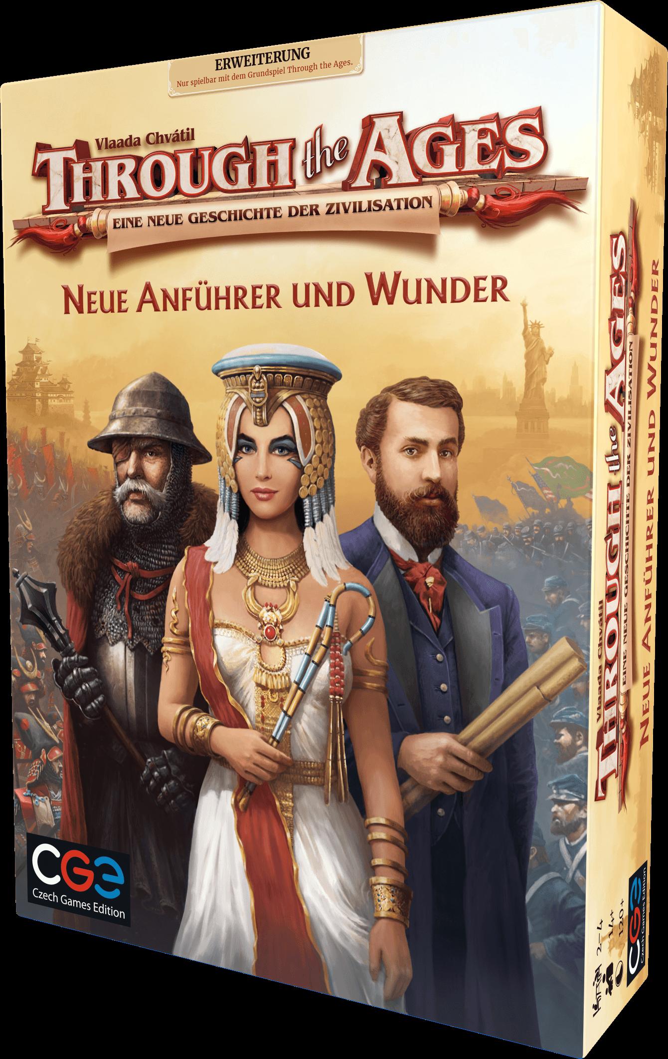 through the ages neue anführer und wunder box
