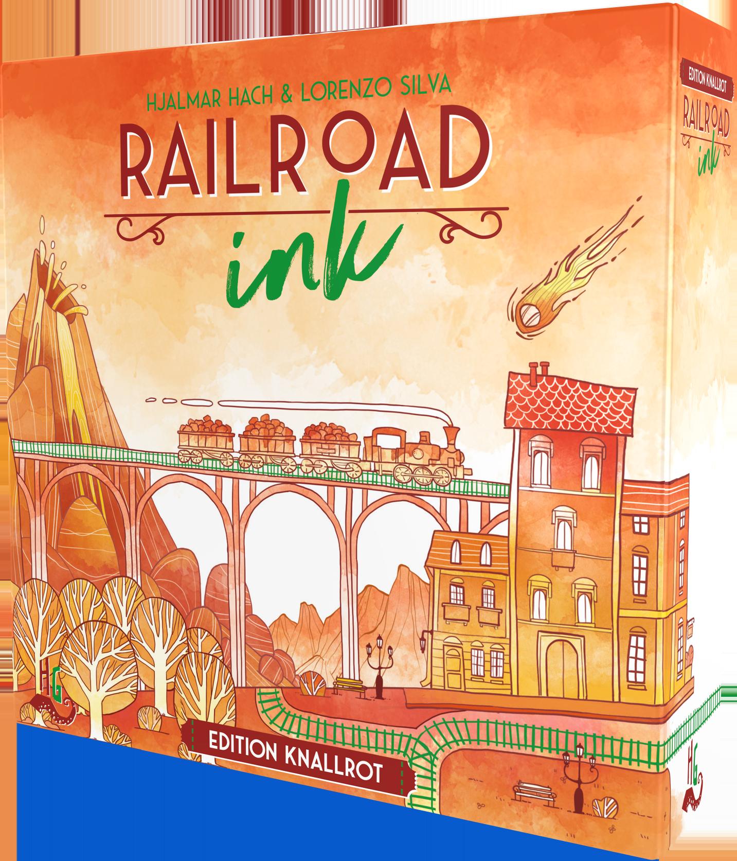 railroad ink edition knallrot box