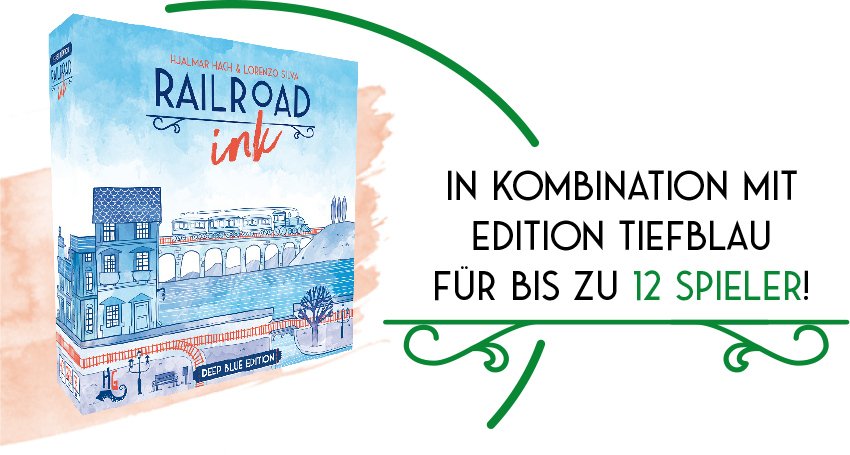 Railroad Ink edition tiefblau