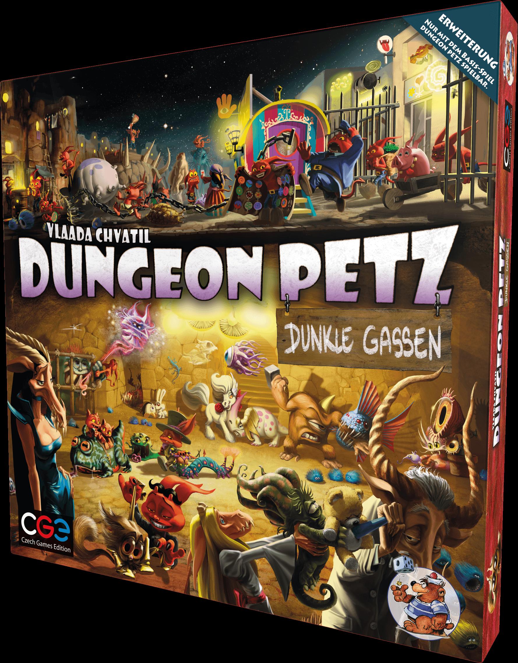dungeon petz dunkle gassen box