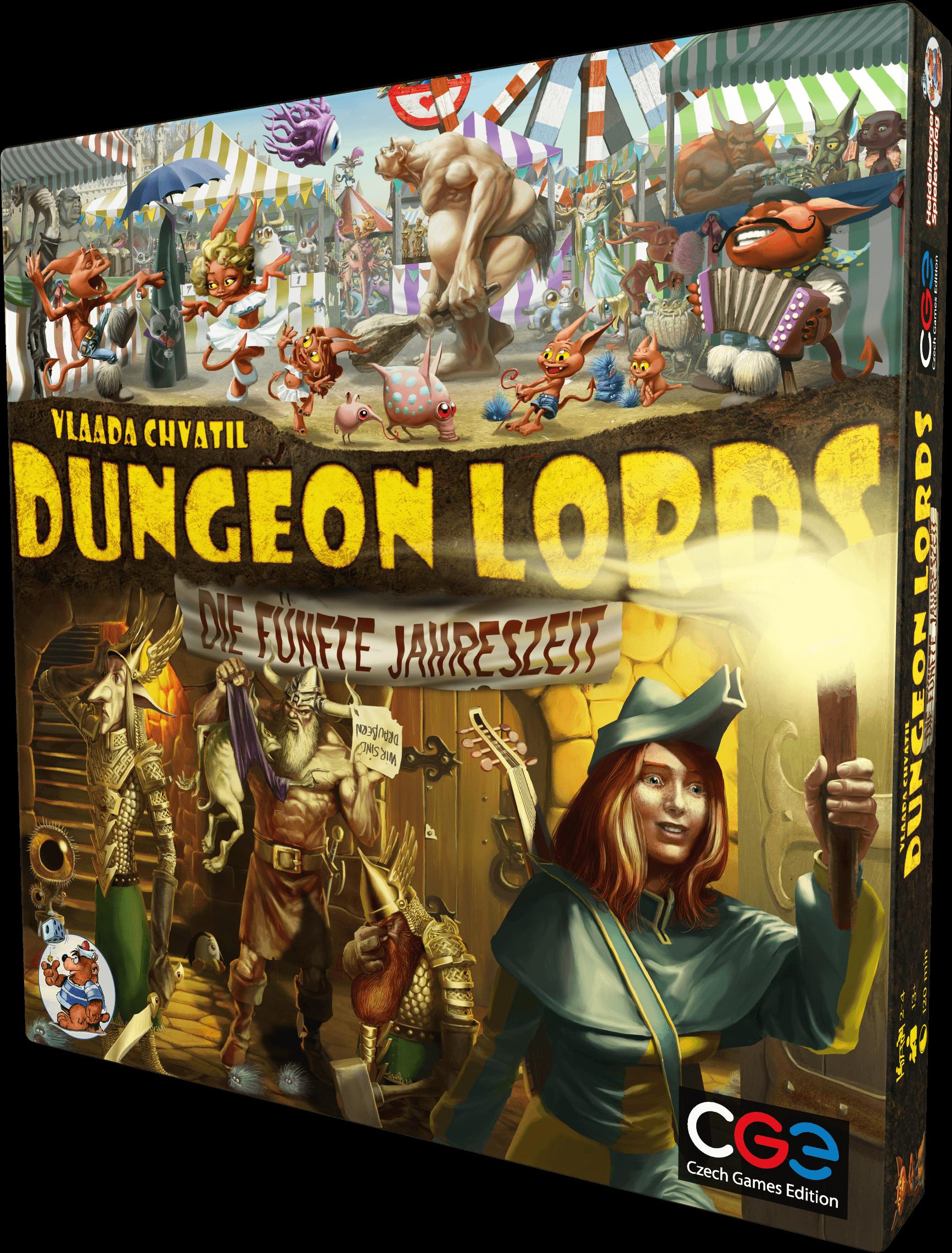 dungeon lords die fünfte jahreszeit box