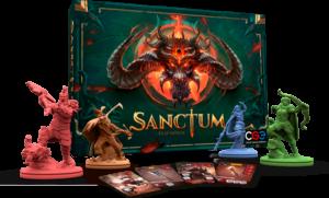 sanctum box mit figuren