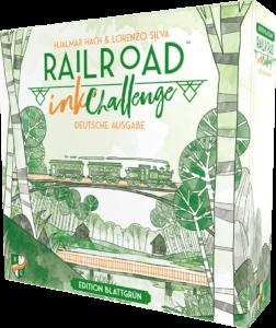 Railroad Ink: Blattgrün