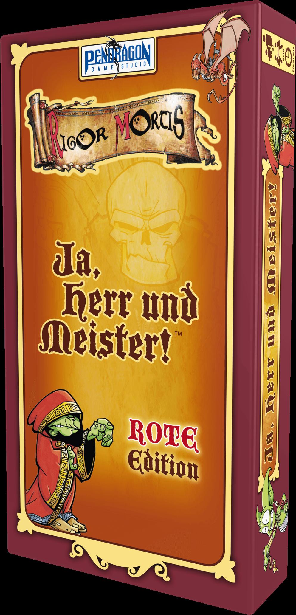 ja herr und meister - rote edition box