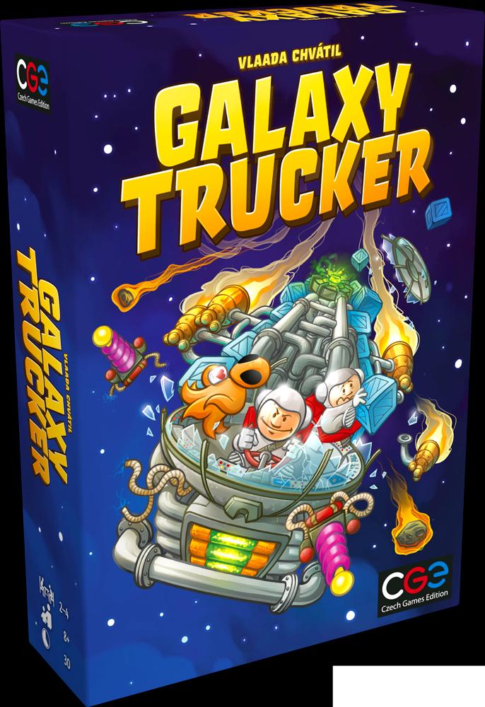 Das ist ein Bild der Verpackung von Galaxy Trucker