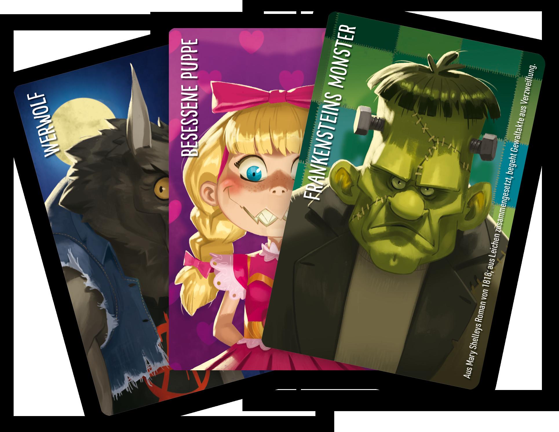 Das ist ein Bild der Spielkarten zu Similo: Halloween
